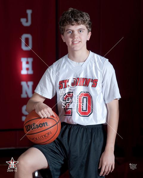 2010-01-28 Basketball Boys SJS Team Photos