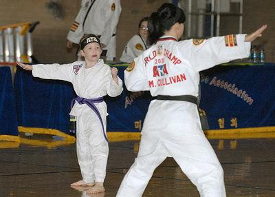 Connor's Tae Kwondo Belt Testing -- 12.16.2006