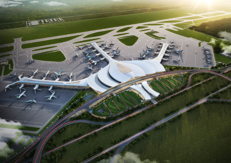 Long Thanh International Airport Passenger Terminal 1