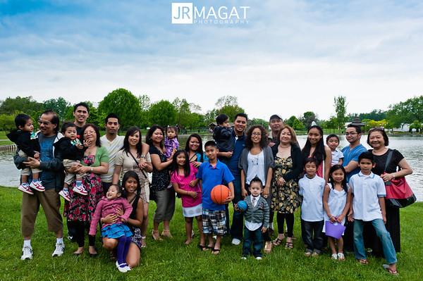 Dela Paz / Pare  / Philavong / Lansang Families