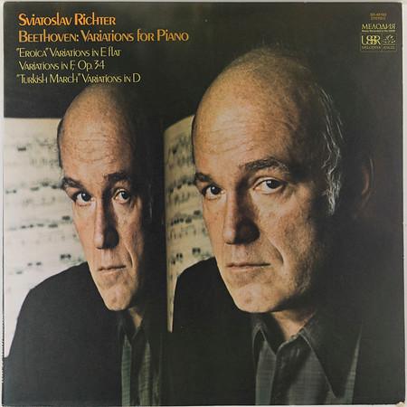 Angel-Melodiya SR-40183 Beethoven Variations for Piano