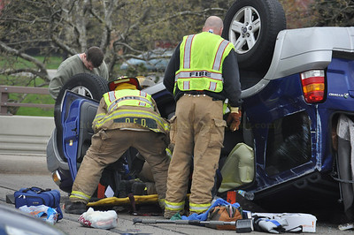 Dearborn rollover accident, 4-11-12