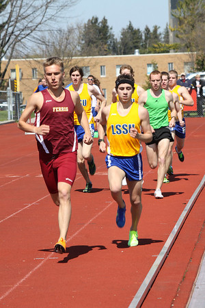 Men's 1500 Meters - 2012 Ferris State Invitational