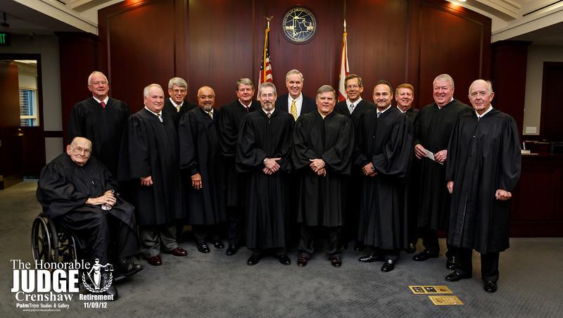 Judge Crenshaw's Retirement