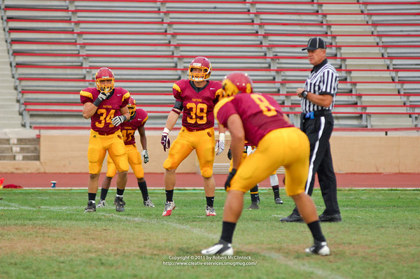 Fresno College: The Game -- 10/01/11 FINAL SCORE = 56-7L