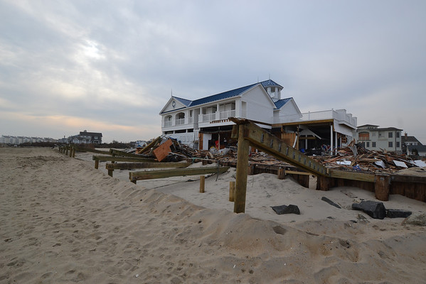 December 02, 2012 -Long Branch and Monmouth Beach, NJ