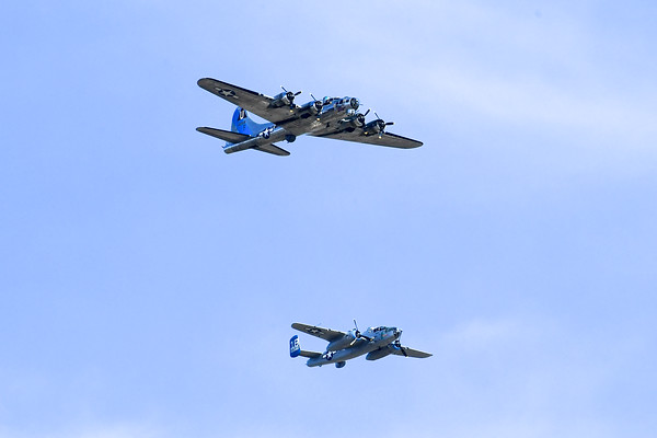 75th Anniversary VE Day flyover 05-08-20