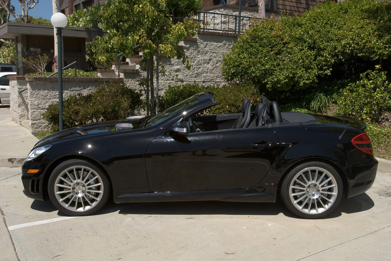 From the side, this doesn't look all that different from the SLK