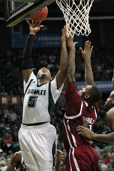 UH vs. New Mexico State 1/21/12