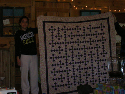Quilting on the Blue Ridge, April 2010