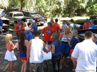 Gator Country, Bubba's tailgate 10-20-12