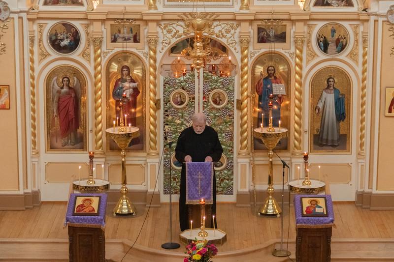 Orthodoxy Sunday Vespers 2019