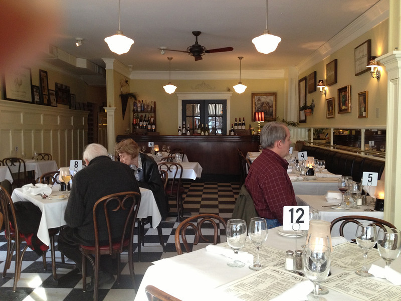 Fritz and Frites restaurant in Galena, IL. Delicious French and German style cooking.