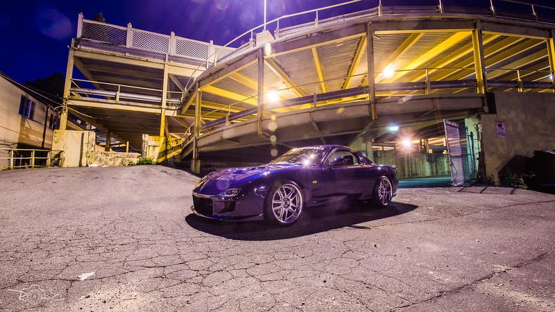 RHD Mazda RX-7