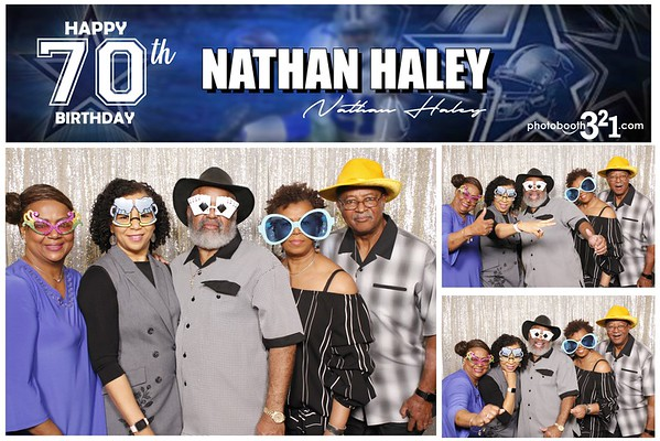 Nathan Haley 70th Birthday 2019