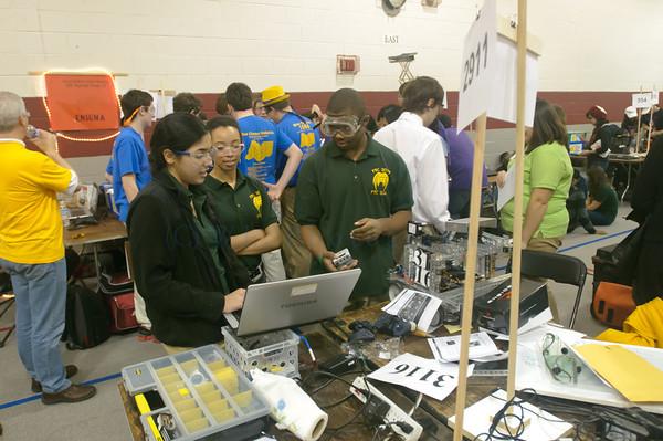 FIRST Robotics at St Christophers 2011