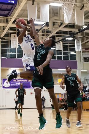 Broughton boys varsity basketball vs Enloe. February 19, 2019. D4S_0234