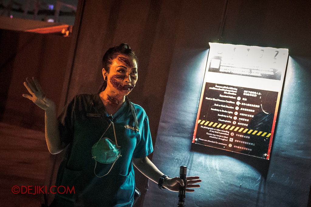 Halloween Horror Nights 7 Singapore - RIP Tour Review / Briefing at TERROR-Cotta Empress