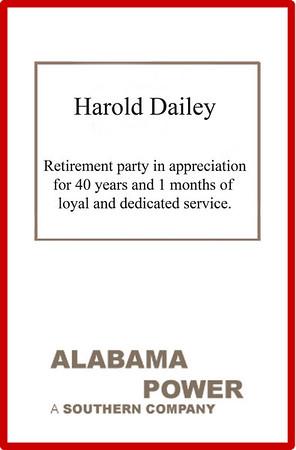 Harold Dailey Retirement