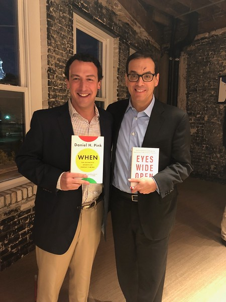 Living Your Best Life Speaker Series Speakers Dan Pink and Isaac Lidsky