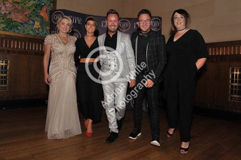 Swansea Life Awards 2017 Brangwyn Hall, Swansea Award Winners, The Hair Lounge