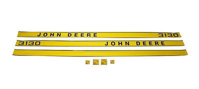 JOHN DEERE 3130 SERIES BONNET DECAL SET