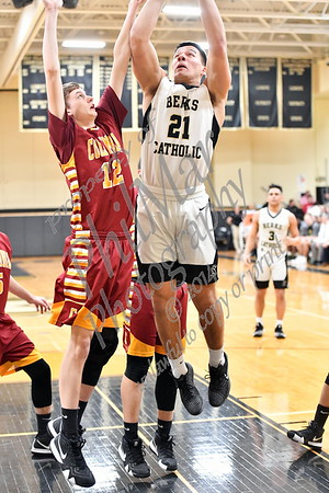 Berks Catholic vs Columbia Boys Basketball 2018 - 2019