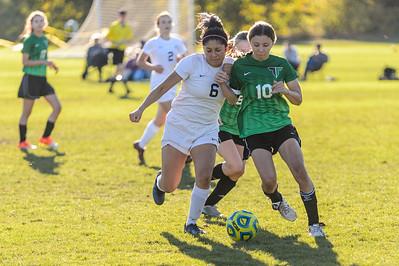 Tigard HS Girls JV II Soccer vs Canby