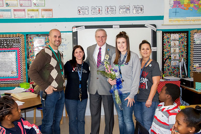 Teachers of the Year District Winners 2018