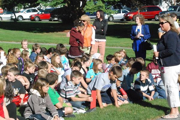 Pollard 4th & 5th Grade attend Plaistow 9/11 Memorial