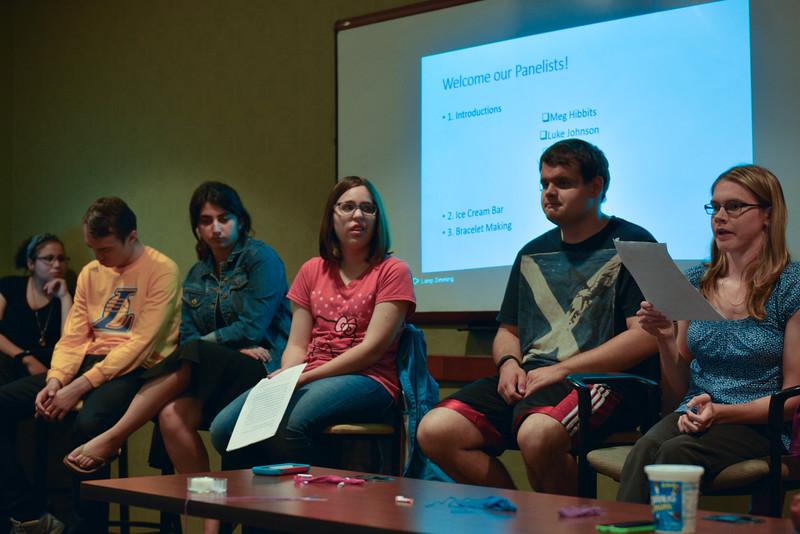 TJ Wilkenson, Ashely Tendel, Meg Hibbits, Luke Johnson, Katie Huddy speaking on their disabilities.