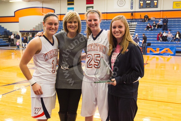 Wheaton College Women's Basketball vs St Mary's (IN) (62-42)/ Beth Baker Classic Final, November 17, 2012