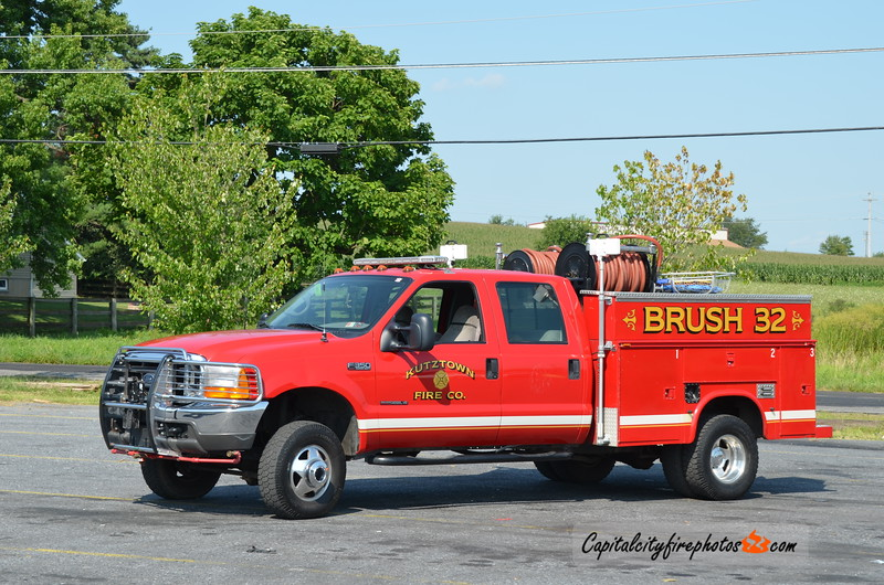 Kutztown Brush 32: 1999 Ford F-350/Reading 300/300