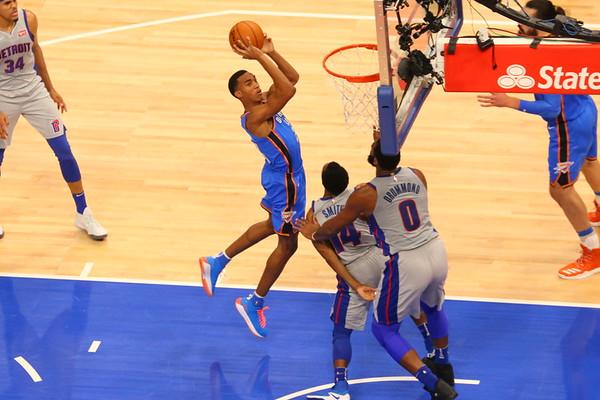 Pistons Game - Jan 2018