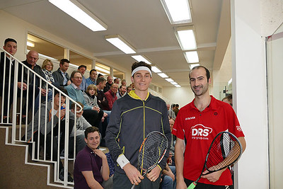 Squash Exhibition Match 4th March 2017