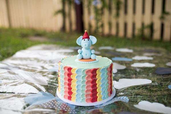 Archie Graham 1st Birthday