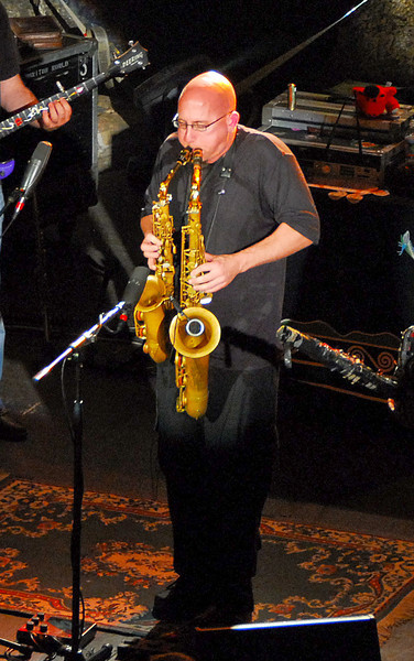 Jeff Coflin, the Flecktones, MN Zoo ---Mus-8017