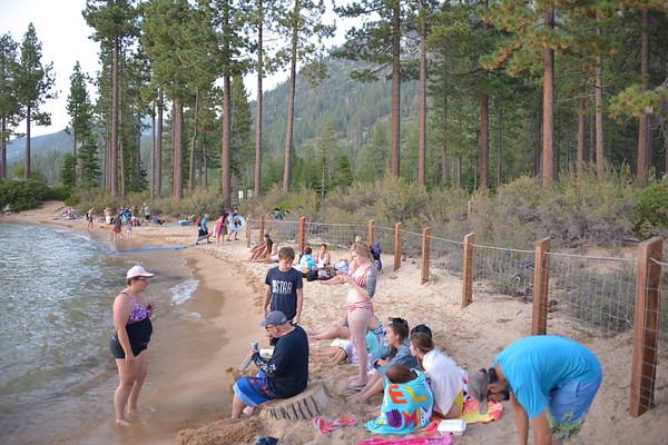 Swimming at Sand Beach