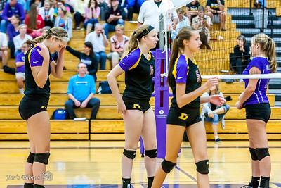 HS Sports - DeForest JV Volleyball [d] Sept 22, 2016