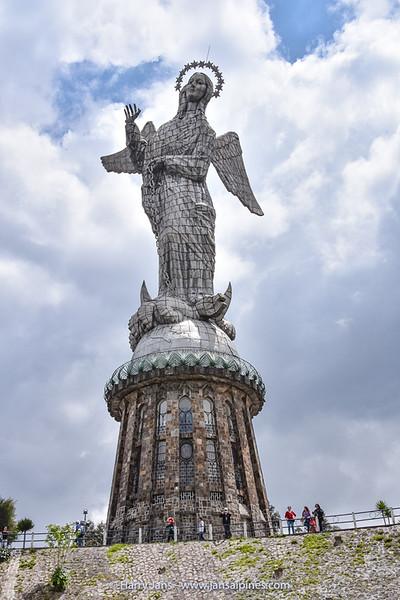 The Virgin of El Panecillo, Quito (1976)