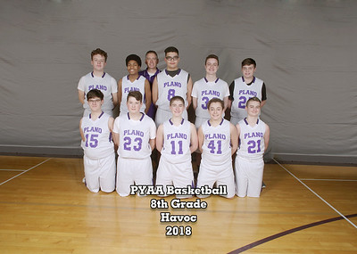PYAA Plano Basketball Teams