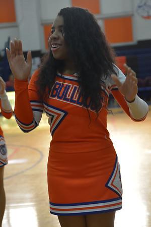 2015-01-17 Cheerleaders - Dayton vs Hillside