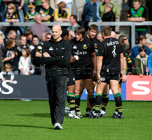 Northampton Saints vs Leeds Carnegie, Guinness Premiership, Franklin's Gardens, 26 September 2009