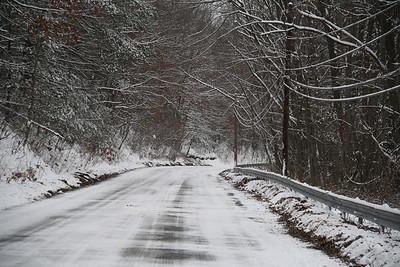 Snow Photos, Walker, Schuylkill Township (1-21-2012)