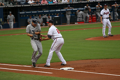 Braves vs Brewers 2010