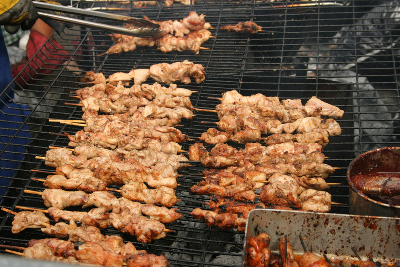 Notting Hill Carnival food