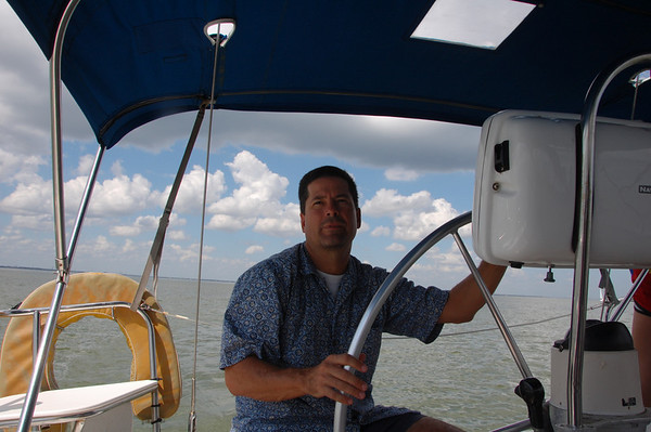 Oct Day out on Sails Call - Galveston Bay