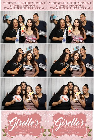 Giselle's Quinceanera- Photo Booth Pictures
