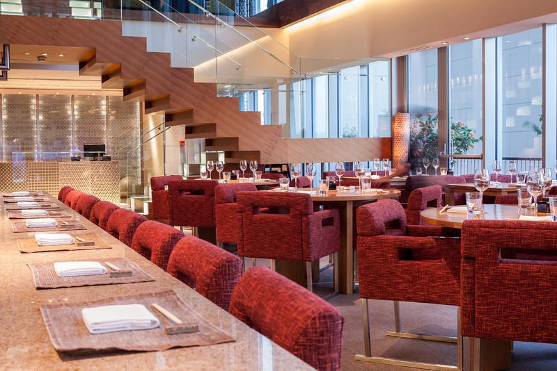 Zuma restaurant, Dubai. For Fijiwater city guides.