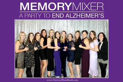Memory Mixer: A Party to End Alzheimer's 11/16/19